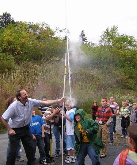 Overhead Water Rocket Launcher Home