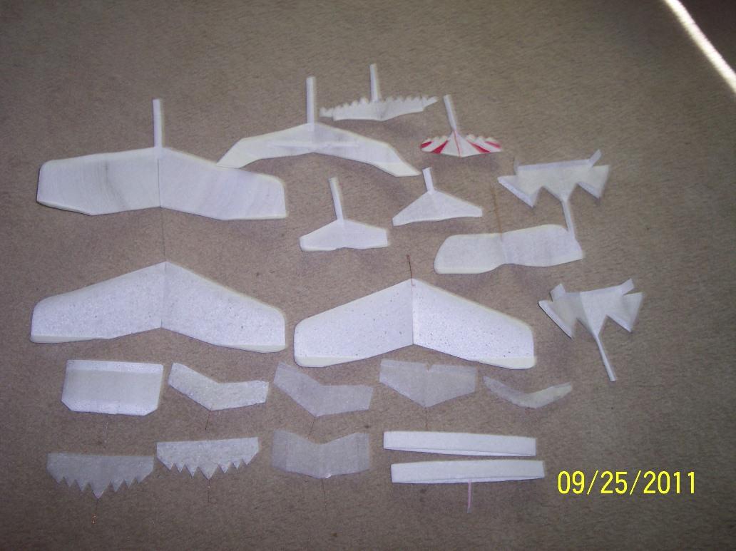 Foam Walkalong Glider Gallery - SciencetoyMaker